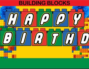 HAPPY BIRTHDAY Blocks