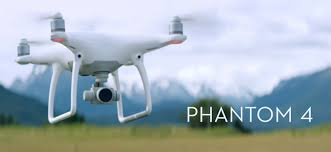 Phantom 4 Drone in Flight